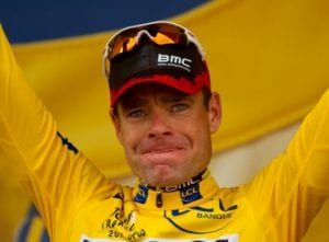 Cadel Evans, winner of 2011 Tour de France