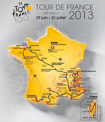 100 Years of the Greatest Sporting Event in the World—Tour de France 2013